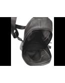 Фотография Коричневый кожаный мужской слинг 8437C