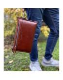 Фотография Большой мужской коричневый клатч Marco Coverna 8519-3-brown