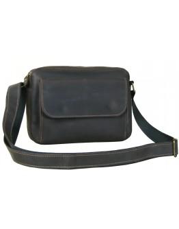 Коричневая мужская горизонтальная кожаная сумка 870019-SGE