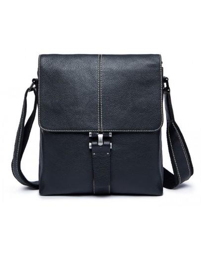 Фотография Чёрная сумка на каждый день из кожи m8835