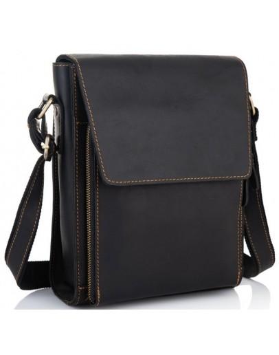 Фотография Кожаная сумка плечевая мужская G8843-1A