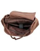 Фотография Большой коричневый рюкзак комбинированного стиля 79003b