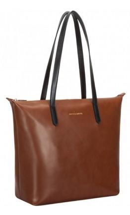 Коричневая женская сумка Smith & Canova 92649 Josephine (Tan)