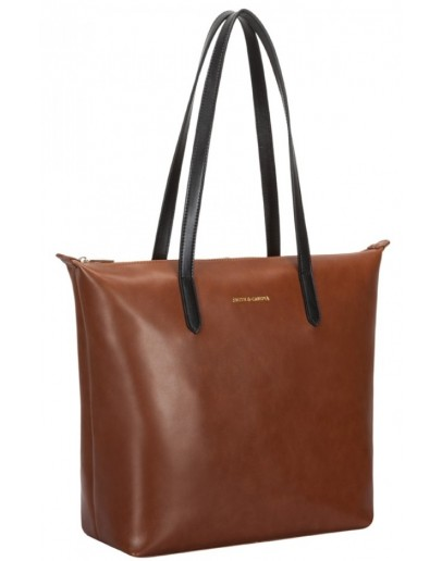 Фотография Коричневая женская сумка Smith & Canova 92649 Josephine (Tan)