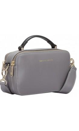 Серая женская сумка Smith & Canova 92658 Josephine (Grey)