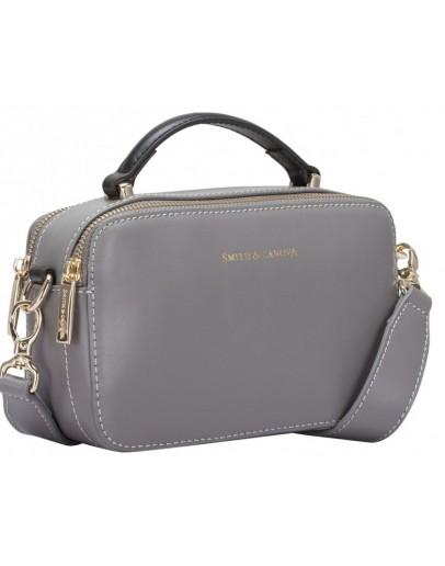 Фотография Серая женская сумка Smith & Canova 92658 Josephine (Grey)