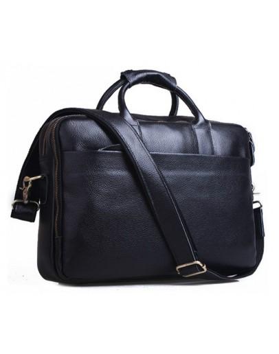 Фотография Элегантный и стильный мужской портфель из натуральной кожи 79277