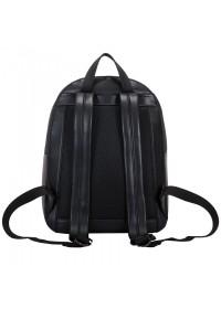 Женский кожаный рюкзак Smith & Canova 92901 Francis (Black-Burgundy)