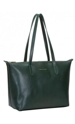 Кожаная женская сумка Smith & Canova 92904 Cambridge (Green)