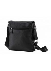 Черная мужская плечевая сумка A25-033A