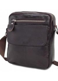 Мужская плечевая сумка, коричневый цвет A25-1108C