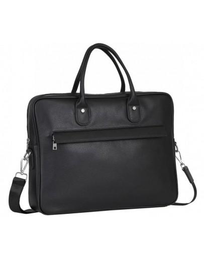 Фотография Черная кожаная сумка для документов A25-17611A