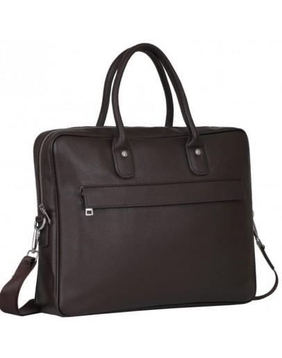 Фотография Коричневая кожаная сумка для документов A25-17611C