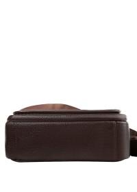 Кожаная сумка с клапаном в руку и на плечо A25-2158C