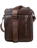 Фотография Кожаная сумка с клапаном в руку и на плечо A25-2158C