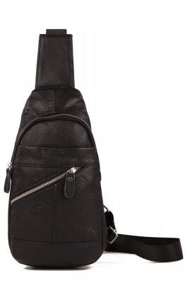 Рюкзак мессенджер черного цвета A25-284A