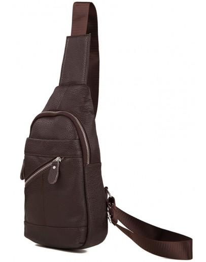 Фотография Рюкзак коричневого цвета на плечо A25-284C