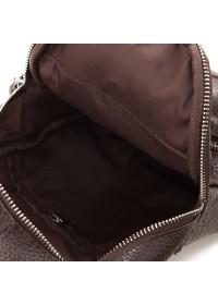 Рюкзак коричневого цвета на плечо A25-284C