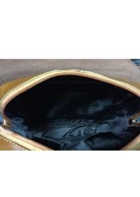 Рыжая мужская сумка, кожаная A25-5567C