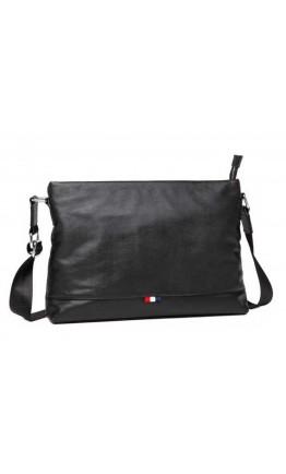 Черная мужская сумка формата А4 горизонтальная A25-6109A