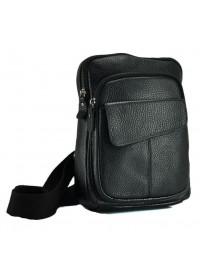 Мужская кожаная сумка на плечо - слинг A25-8699A