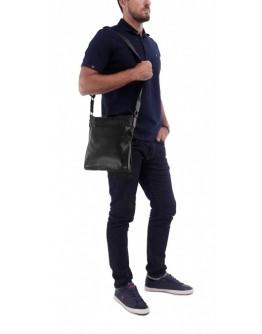 Мужская сумка на плечо кожаная, без клапана A25-8850A