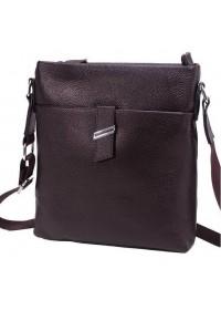 Коричневая сумка мужская, планшетка на плечо A25-9119C