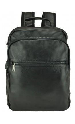 Мужской черный рюкзак из натуральной кожи A25F-8835A