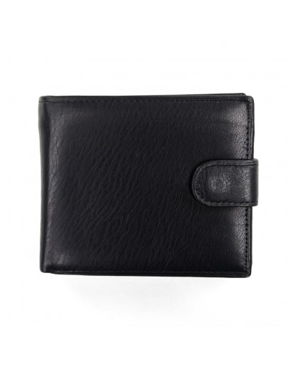 Фотография Черное портмоне мужское кожаное A7-677A