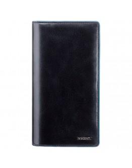 Черное мужское портмоне Visconti ALP88 Jean-Paul с RFID (Italian Black)
