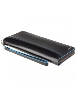 Мужское дорожное портмоне - клатч Visconti ALP89 Alfred (Italian Black)
