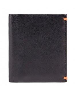 Кожаный оригинальный кошелек Visconti AP60 Thun (Black Orange)