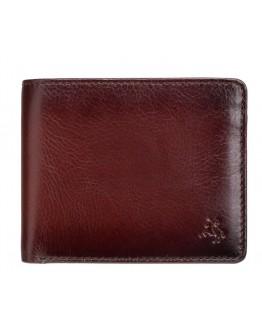 Коричневый оригинальный кошелек Visconti AT60 Arthur c RFID (Burnish Tan)
