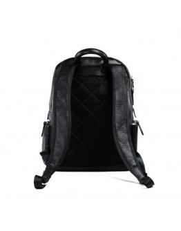 Удобный кожаный рюкзак мужской черного цвета B3-047A