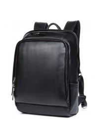 Черный рюкзак мужской из натуральной кожи B3-058A