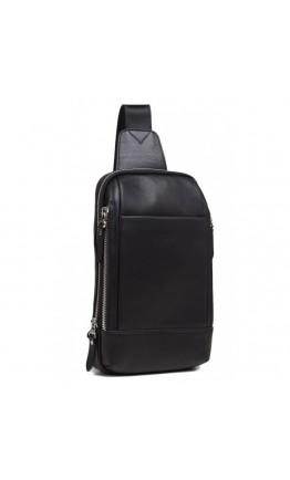 Кожаный рюкзак - слинг B3-087A