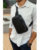Фотография Кожаный рюкзак - слинг B3-087A