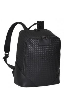 Черный мужской кожаный рюкзак B3-165A