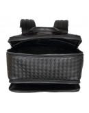 Фотография Черный мужской кожаный рюкзак B3-165A