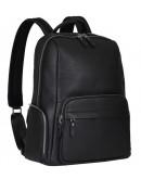 Фотография Мужской рюкзак черного цвета кожаный B3-167A