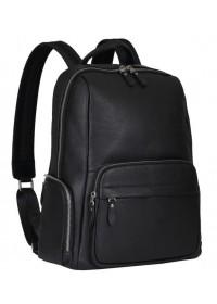 Мужской рюкзак черного цвета кожаный B3-167A