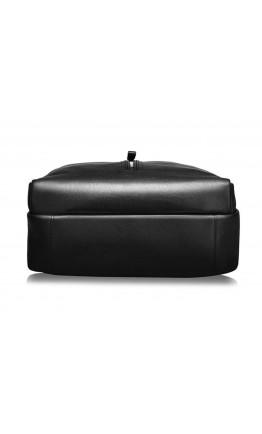 Мужской кожаный рюкзак черного цвета B3-1692A
