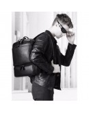 Фотография Очень вместительный рюкзак мужской черный B3-1697A