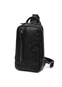 Мужской кожаный рюкзак - слинг B3-1725A
