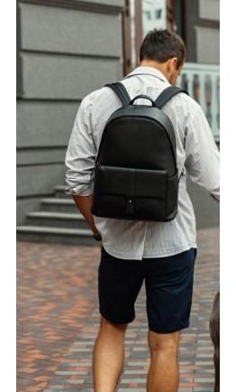 Удобный и вместительный мужской кожаный рюкзак B3-172A