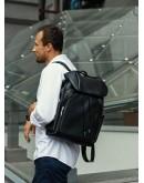 Фотография Мужской рюкзак вместительный из натуральной кожи B3-174A