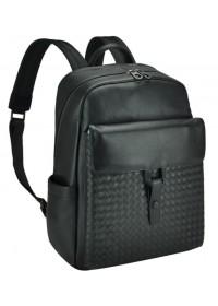 Рюкзак мужской черный из натуральной кожи B3-177A