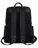 Фотография Мужской черный рюкзак кожаный B3-181A