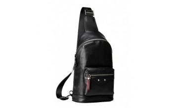 Кожаный мужской мессенджер - слинг на плечо B3-1992A