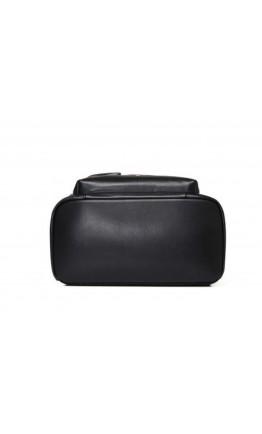 Рюкзак мужской из натуральной кожи черный B3-2050A